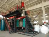 Máquina moldando plástica Witrh 3layers do molde de sopro do tanque de água do armazenamento