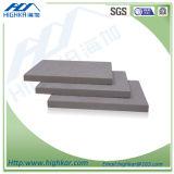 Cemento Sgeet, tarjeta de la fibra de Precoloured del gris del cemento de la fibra del No-Asbesto