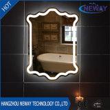 Specchio chiaro astuto decorativo della stanza da bagno LED di trucco della casa moderna dell'hotel