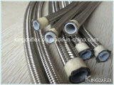 ステンレス鋼編みこみのSAE100 R14のテフロン油圧ホース