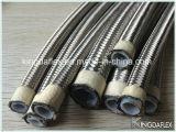 ステンレス鋼316/304本の編みこみのSAE100 R14のテフロン油圧ホース