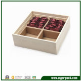 Mémoire en gros pour la boîte en bois à thé d'emballage