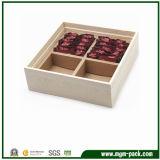 Armazenamento por atacado para embalar caixa de chá de madeira