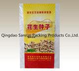 Plastik gesponnener Beutel verwendet für Startwert- für Zufallsgeneratorzufuhr-Reis