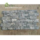 Venner en pierre normal gris classique avec la base de la colle