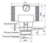 Membrankondensator-Druck-Übermittler für das Entdecken des Speiseöl-Drucks