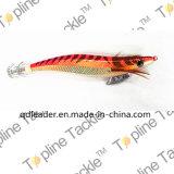 Джиг кальмара рыболовства с цветастой конструкцией