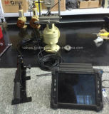 Matériel vérificateur de pression portatif commandé par ordinateur en ligne de soupapes de sûreté