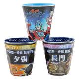 Zwei Ton-Melamin-Cup mit Firmenzeichen (CP007)