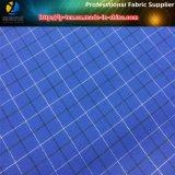 コートのための銀製ヤーンが付いている300dポリエステルヤーンの染められたファブリック(反紫外線)