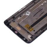 Агрегат цифрователя экрана касания Lcds мобильного телефона с рамкой на Alcatel 8020