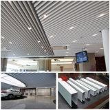 Soffitto di alluminio a prova d'umidità del deflettore della polvere della stazione di metro all'ingrosso del cappotto