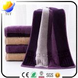 綿の柔らかいテリータオルの浴室タオルの表面タオル手タオル(100%年の綿の無地の浴室タオルタオルセット)