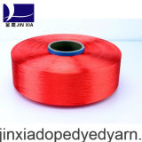 FDY Dope Dyed 500d / 144f Filament Polyester Yarn