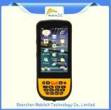 De ruwe Industriële Collector van Gegevens PDA met GPS 3G WiFi van de Scanner van de Streepjescode Printer UHFHF LF RFID