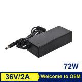 Chargeur en gros d'ordinateur portatif de l'adaptateur 120W 24V 5A d'ordinateur de qualité