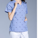 Unisex Scrubs Top & Bottom Medical Nursing Uniform of Cotton