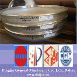 Testa del piatto dello S.S./protezione di estremità/testa di Torispherical per il depuratore del gas