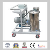 Máquina de purificación de aceite de acero inoxidable para planta de energía y planta química