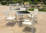 옥외 등나무 테이블 및 의자는 정원 (LL-RST004)를 위해 놓았다