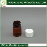 medizin-Flasche Wtith Überwurfmutter des Haustier-30ml transparente Plastik