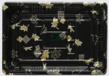 Pp.-schwarzer rechteckiger Nahrungsmittelbehälter mit freier Plastikkappe: Für Lebesmittelanschaffung-Ereignisse und Gaststätte Takeout &ndash vervollkommnen; Wegwerf- und E