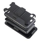 2 em 1 caixa áspera híbrida do PC Shockproof protetor de TPU para Zte A475 com Kickstand Foldable