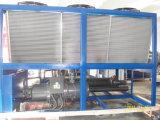 refrigerador de refrigeração ar do compressor do parafuso de 100HP 80ton Hanbell