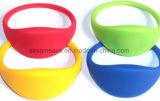 Wristband do suporte de cartão do controle de acesso do silicone RFID (S-WB2D)