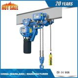 10 T 높은 정밀도 낮은 헤드룸 전기 체인 호이스트 (ECH 10-04LD)