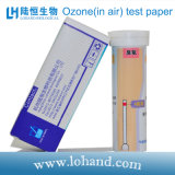 Tiras de prueba del ozono del laboratorio (en aire)