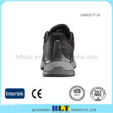 Горячие продавая кожаный верхние Breathable ботинки подкладки тканья