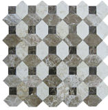 Irregular de piedra de mármol del mosaico de la construcción de viviendas Material de pared (FYSC020)
