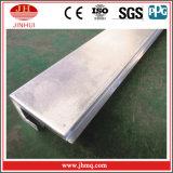 Het Kanaal van het aluminium J met Hoek met Ongelijke Benen