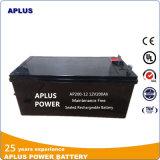 Fournisseur apuré pour la batterie solaire entièrement chargée 12V 200ah