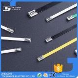 Attache à câble en acier inoxydable revêtue de PVC à haute résistance à la traction, attache Zip Epoxy