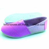 Inyección de 2017 la nueva mujeres del diseño calza los zapatos planos del ocio (FFPY0227-02)