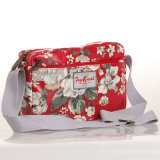 (99032-6) 방수 PVC 화포 Handbag 꽃 패턴 숙녀