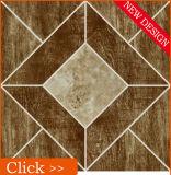 Nuove mattonelle di pavimento di ceramica delle mattonelle 3D della stanza da bagno di disegno della porcellana strutturata