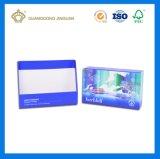 Conception personnalisée Emballage imprimé Boîte à tiroir en papier (Finition mat)