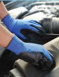 polyester 13G angulaire/gant en nylon
