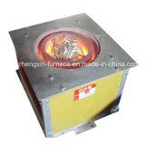 Fornalha de derretimento pequena estacionária da indução do metal do tamanho para a venda