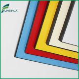 tarjeta de la resina de melamina del espesor de 4 milímetros para el revestimiento de la pared
