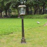 Luz solar libre del jardín de la contaminación de fotovoltaico verde
