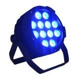 RGBWA + UV profesional IP44 LED PAR para la iluminación de la etapa con Neutrik Conector Powercon Verdadero1