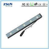 방수 12PCS*3W RGB 단계 세척 빛 LED 벽 세탁기