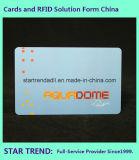 Cor cheia do cartão padrão plástico do cartão Cr80 do cartão do PVC do cartão