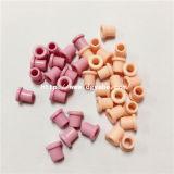 Remaches de cerámica de la guía de alambre de las piezas del alúmina de la guía del hilado