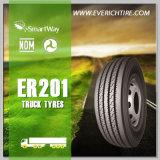 neumáticos baratos del carro 285/75r24.5 de los neumáticos de los neumáticos radiales chinos TBR del acoplado con término de garantía