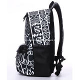Fashion Teenager Cool Ghost Face Pattern Backpack School Bag
